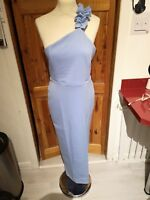 Ladies beautiful ASOS size 12 long evening party dress new with tags , baby blue