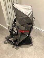 Osprey Poco Plus Carrier - Baby - Toddler - Backpack - Black/ Grey