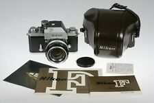 MINTY Nikon F Photomic FTN Finder Film Camera with Nikkor 50 1.4 S Auto Lens