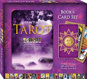 Simply Tarot Signed by Author -Amanda Hall - New Gift box Tarot Cards + Book