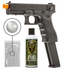 GLOCK G18C Gen3 GBB(VFC) Airsoft Pistol with Green Gas Tanks and 1000 BBS Bundle