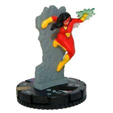 HEROCLIX NICK FURY Agent of SHIELD - #055 Spider Woman *Super Rare*