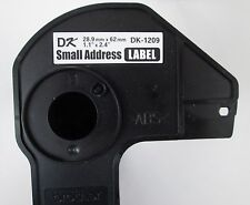 1 Brother Cartridge Core for DK-1209 Small Address Labels