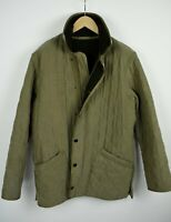 BARBOUR D2020 MICROFIBRE POLARQUILT LONG Men's M Polyester Blend Jacket 21227-JS