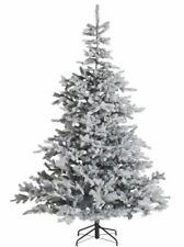 6ft Snowy Artificial Christmas Tree Spruce 🎄 UK BOXED NEW RRP £79! FREE DELIVER