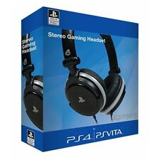 4 gamers Stereo Gaming Headset Dual Format PS4 & PS Vita-NEUF!