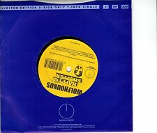 Wolfhounds - Happy Shopper - 1 Sided Ltd Edition 7 Inch Vinyl Record NEW