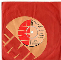 """Cliff Richard - We Don't Talk Anymore / Count Me Out 7"""" Single 1979"""