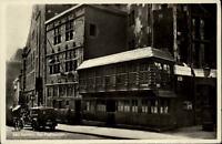 Bad Aachen Nordrhein-Westfalen Postkarte 1937 gelaufen Straßenpartie Postwagen