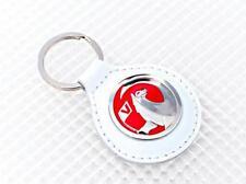 Vauxhall porte-clés en cuir blanc officiel produit sous licence Richbrook CORSA ASTRA