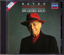 Sir Georg SOLTI: HAYDN Symphony No.93 99 Decca CD 1987 London Philharmonic