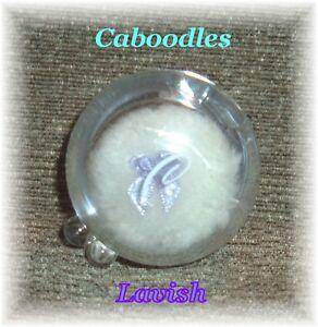 """3"" CABOODLES Snow Goddess Mini Glitter puff - LAVISH #70497"