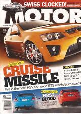 Motor Oct 06 HVS VE GTS XR6 XR8 SS XR5 Golf GTI Astra SRI Liberty GT B Spec Turb