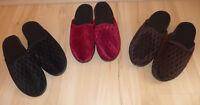 Damen Pantoffeln Weinrot, Schwarz, Braun Gr. 36, 37, 38, 39, 40, 41