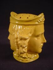 VERY RARE EARLY 1800s LAW OFFICE POUNCE POT YELLOW WARE
