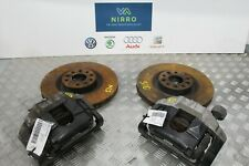 AUDI A3 S3 2008-2012 8P SET OF FRONT BRAKE CALIPERS AND CARRIERS WITH DISCS