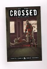 """CROSSED BADLANDS #28 Limited edition """"Red"""" cover by Jacen Burrows! NM"""