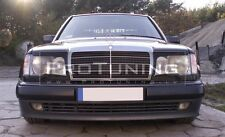Mercedes E W124 eyebrows headlight spoiler lightbrows eye lids brows covers C124