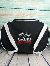 Crock Pot Carrying Case Tote Insulated Travel Bag Nascar Racing 6 Quart Oval