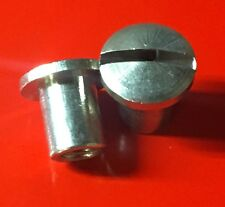 Lambretta Stainless Steel Legshield Top Hat x 2 LI SX TV GP