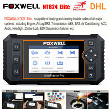Foxwell NT624 Elite EPB Oil Reaset OBD2 Scanner ABS SRS Airbag Diagnostic Tool