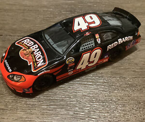 RARE 1/24 - 2004 #49 Red Baron - DODGE INTREPID - Black And Red