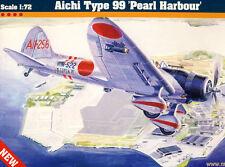 MC Aichi D3A1 Type 99 Pearl Harbour Shokaku Soryu HiRYU 1:72 Modell-Bausatz kit
