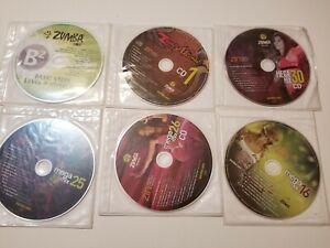 LOT OF 6 CD Zumba Fitness  Music ZIN