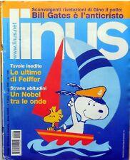 RIVISTA FUMETTI LINUS N.7 2000 BILL GATES