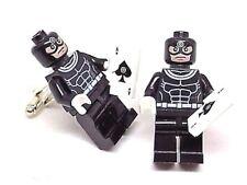 Handmade LEGO® Marvel Bullseye Super Hero Cufflinks, W/Gift Box!