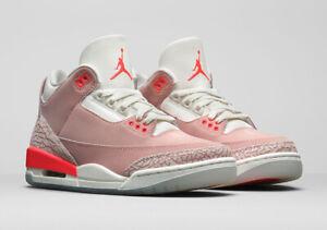 Nike Air Jordan 3 Retro Rust Pink CK9246-600 Size 6 W Ships Fast Free Same day