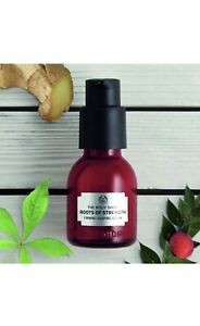 The Body Shop Roots Of Strength Firming Shaping Serum 30ml New