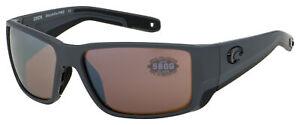 Costa Del Mar Blackfin Pro Sunglasses 6S9078-1160 Cop Slv Mirror Polarized 580G