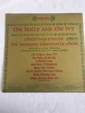 THE HOLLY AND THE IVY MORMON TABERNACLE CHOIR COLUMBIA MASTERWORKS Ships N 24h