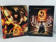 New The Hunger Games 2 Pack Two Pocket Folder 3 Hole Punched Katniss NECA