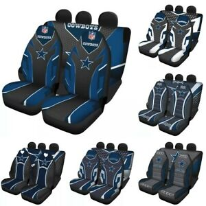 Dallas Cowboys Auto Seat Covers for Car Truck SUV 5 Seater Front Rear Protectors