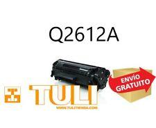 Toner Q2612A Compatible con HP Nº12A Laserjet 1012, lasejet 1010, 1015, 1018