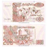 Algeria 200 Dinars 1992  P-138  Banknotes  UNC