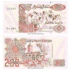 Argelia 200 dinares 1992 P-138 Billetes Unc
