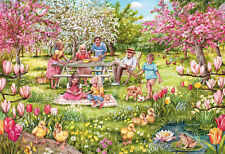 GIBSONS JIGSAW PUZZLE 1000 PIECES Five Little Ducks by DEBBIE COOK G6207
