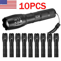 Tactical 18650 Flashlight T6 LED High Powered 5Modes Zoomable Aluminum