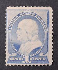 U.S. Scott # 212 1887 Regular Issue Franklin 1 Cent Stamp Mint NH CV $290 scu