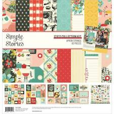 "Simple Stories Collection Kit 12""X12""-Apron Strings New"