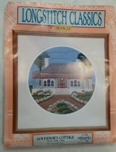 """Semco Longstitch Classic Kit. """"Governors Cottage"""" To Embroider"""