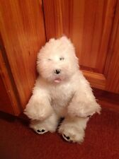 Build A Bear Factory West Hyland Terrier White Dog With Lead