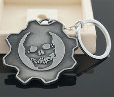 Gears of War Logo Keychain Metal Key Ring Xbox  - NEW - FREE SHIPPING