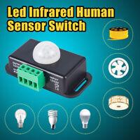 For LED light Useful Automatic DC 12V-24V 8A Infrared PIR Motion Sensor Switch