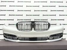 BMW 7 SERIES LUXURY G11 G12 2016-2018 FRONT BUMPER IN WHITE FULL COMPLETE [B997]