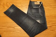 NWT MEN'S PRPS GOOD & CO. JEANS Size 34 Demon Slim Fit Mid Rise Dark Blue $188