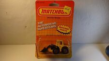 Matchbox #29 Yellow Shovel Nose Tractor w/ black scoop & opened package